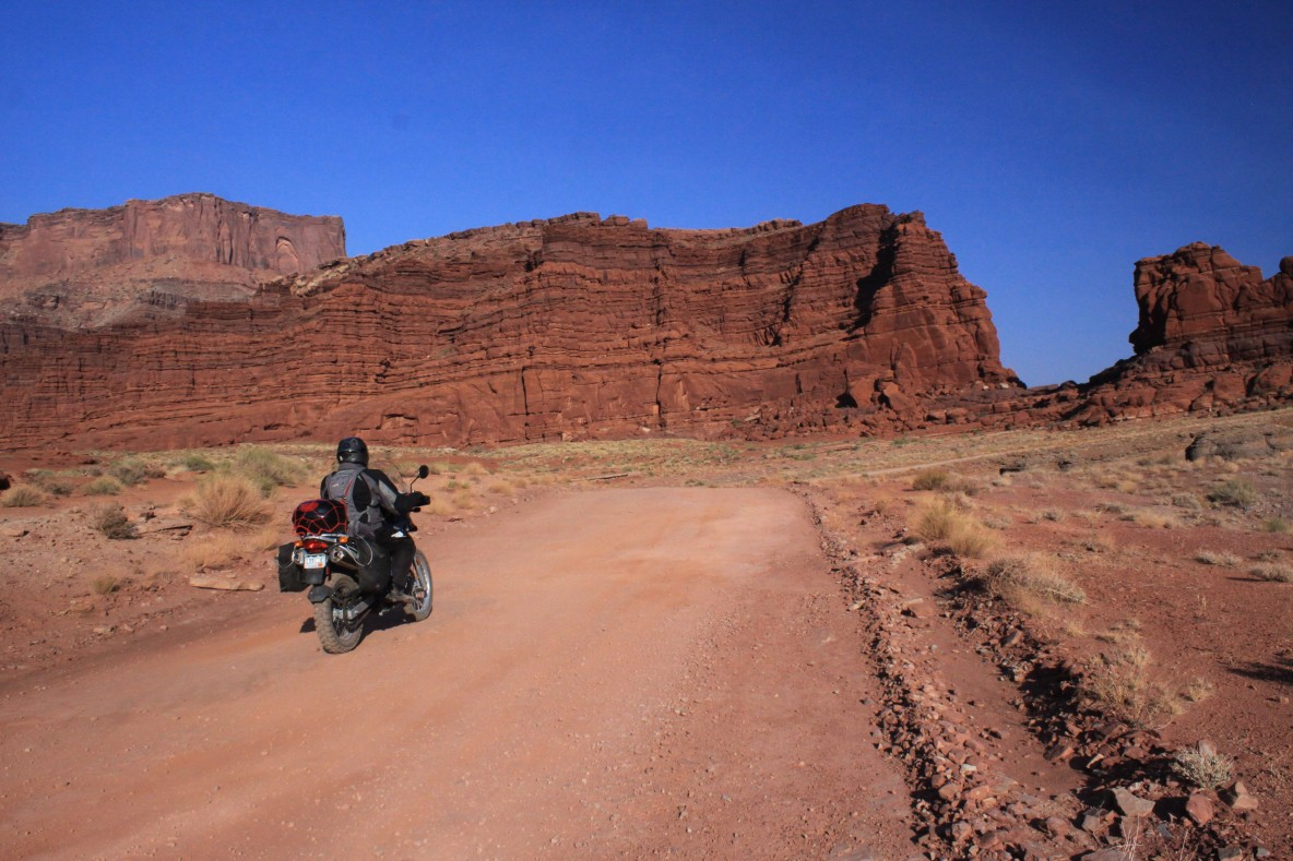 Dad on Potash Road Moab
