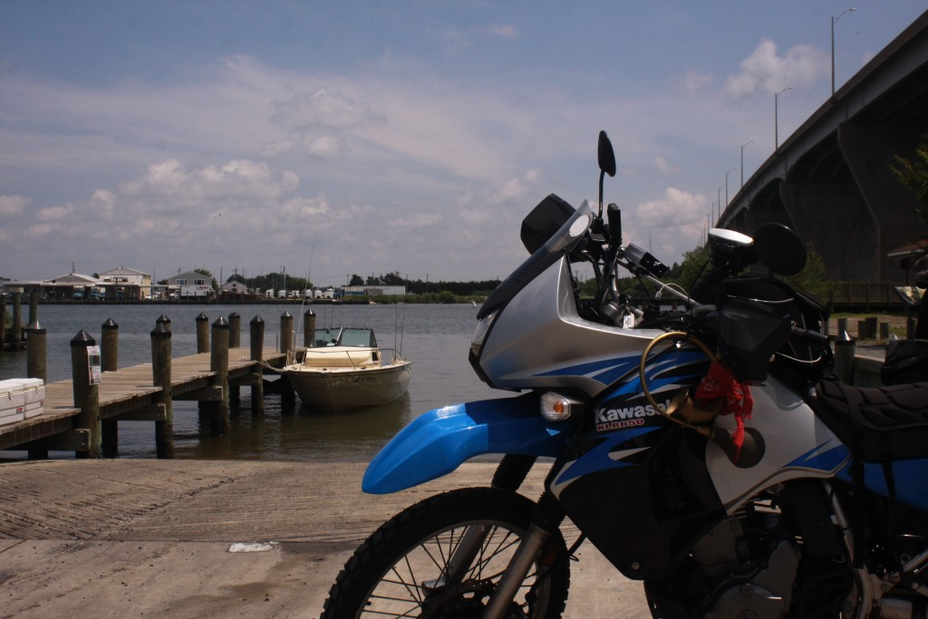 Dad's KLR and the Horn