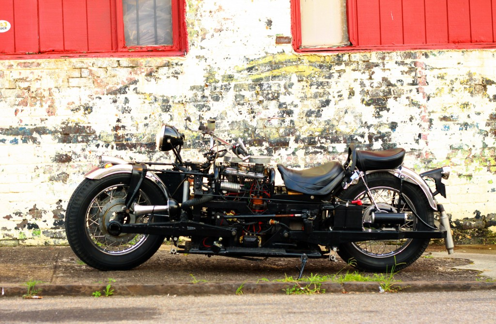 Kenneth Winter Beast Motorcycle