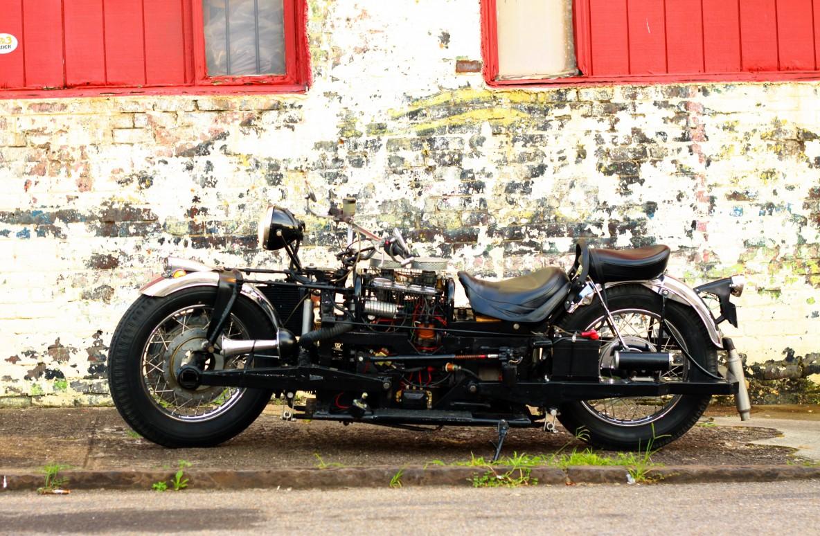 Kenneth Winter Beast Motorcycle