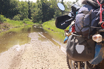 Trans-America Trail Big Water Crossing #1