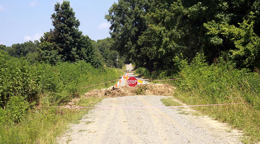 Heber Springs, AR Detour