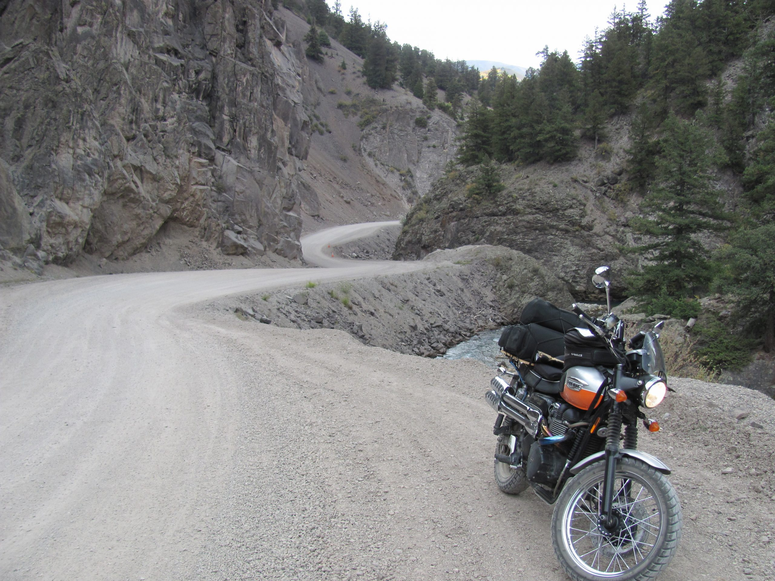 Triumph in the Alpine Loop