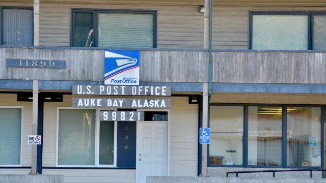 Auke Bay Post Office (Outside Juneau)