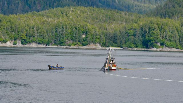 FIshing Boat Detour from Juneau