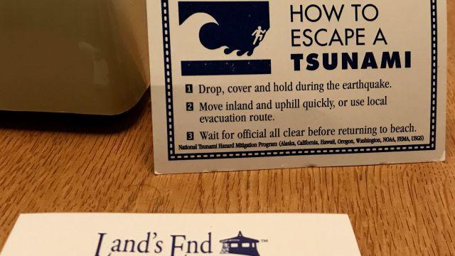 Tsunami Advice