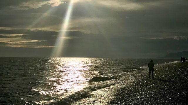 """Sunset"" in Homer, AK"