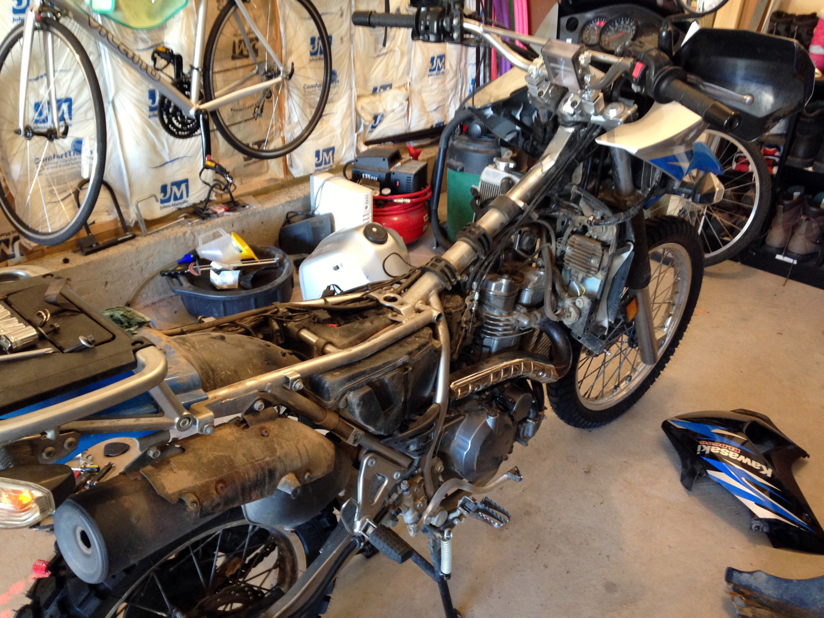 KLR Surgery for Round 2