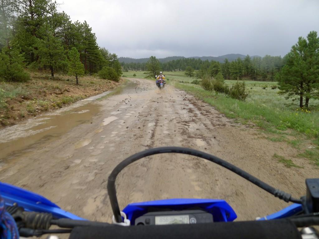 Oh look . . . more mud!