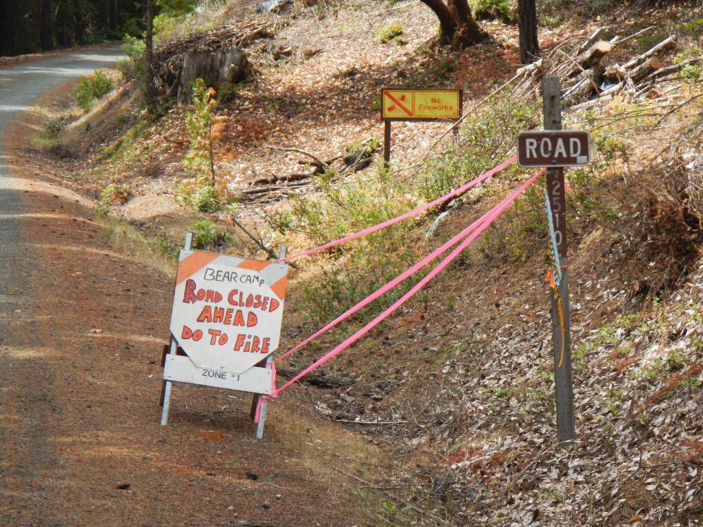 Big Windy Trail Closures