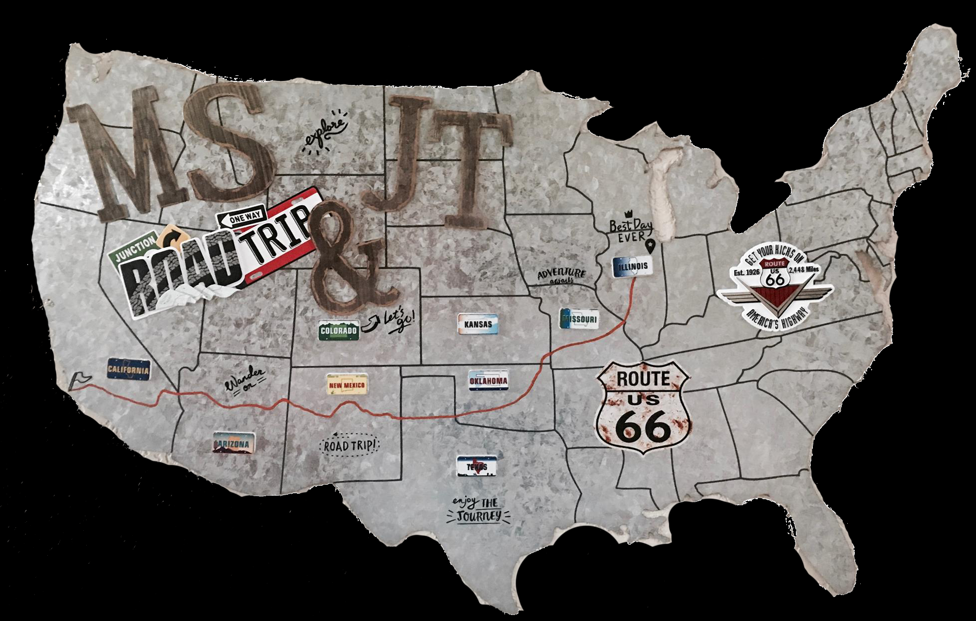 MS 66 MAP